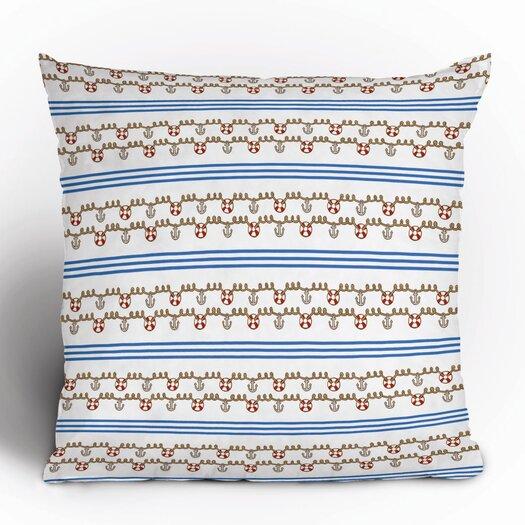 DENY Designs Jennifer Denty Anchor Throw Pillow