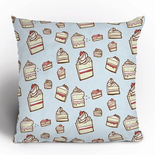 DENY Designs Jennifer Denty Cake Slices Throw Pillow
