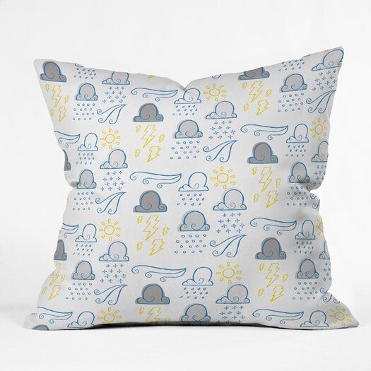 DENY Designs Jennifer Denty Clouds Indoor/Outdoor Throw Pillow