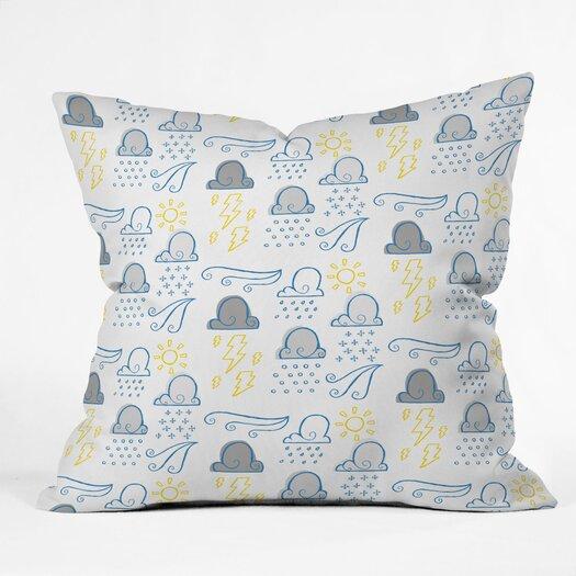 DENY Designs Jennifer Denty Clouds Throw Pillow