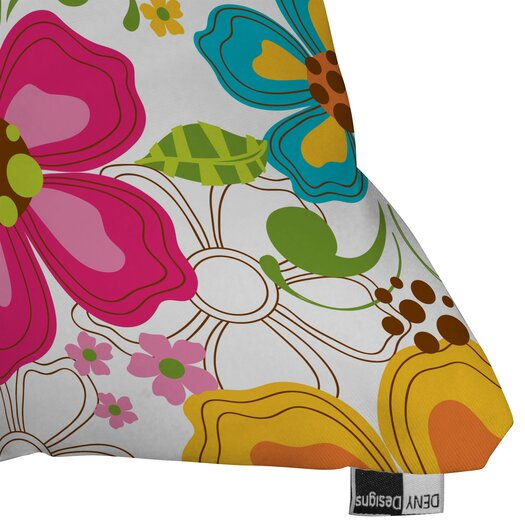 DENY Designs Khristian A Howell Kaui Blooms Throw Pillow