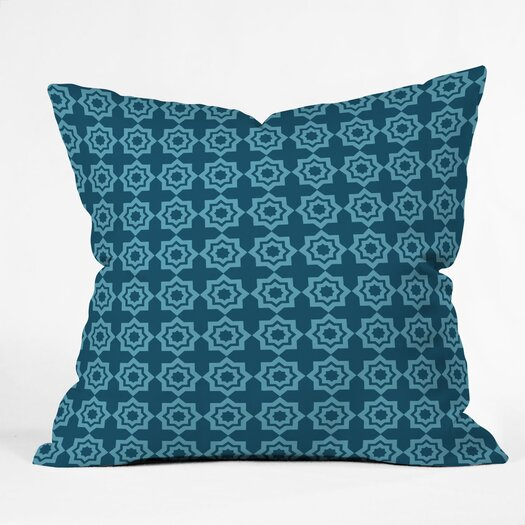 DENY Designs Khristian A Howell Moroccan Mirage Indoor/Outdoor Throw Pillow
