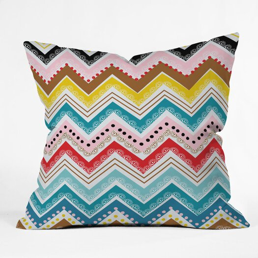 DENY Designs Khristian A Howell Nolita Chevrons Indoor/Outdoor Throw Pillow