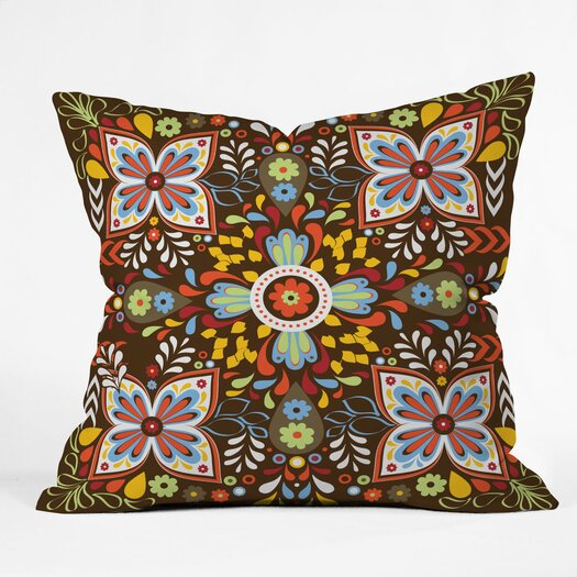 DENY Designs Khristian A Howell Wanderlust Indoor/Outdoor Throw Pillow