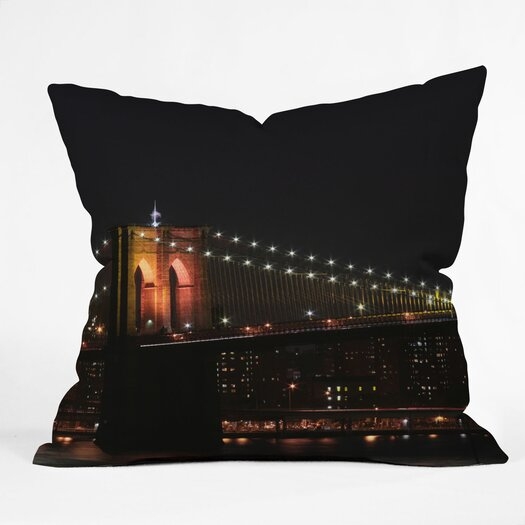 DENY Designs Leonidas Oxby Brooklyn 2 Indoor/Outdoor Throw Pillow