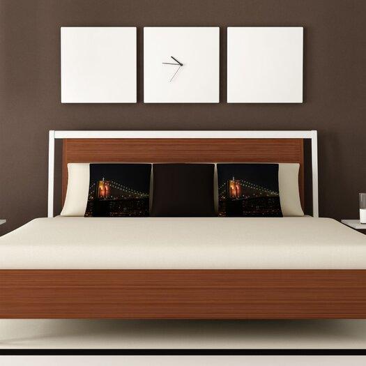DENY Designs Leonidas Oxby Brooklyn Bridge 2 Throw Pillow