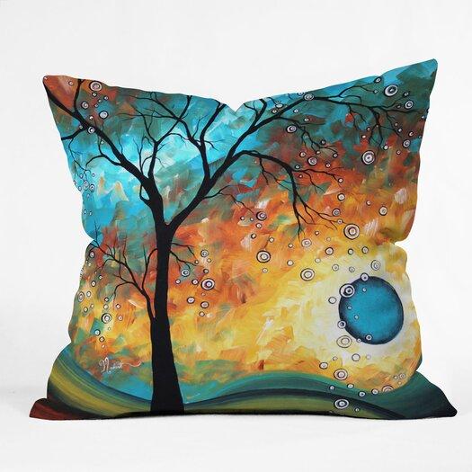 DENY Designs Madart Inc Burn Indoor/Outdoor Throw Pillow