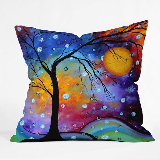 DENY Designs Madart Inc Winter Sparkle Throw Pillow
