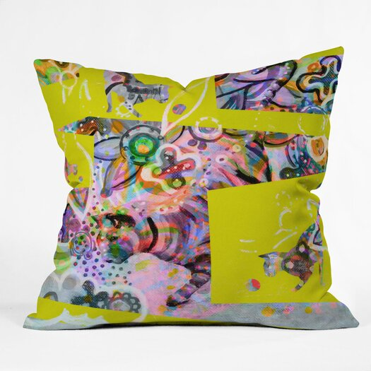 DENY Designs Randi Antonsen Cats 4 Throw Pillow