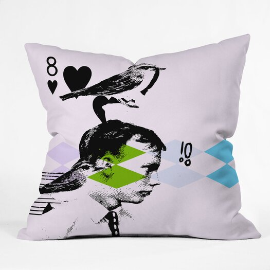 DENY Designs Randi Antonsen Poster Hero 2 Throw Pillow