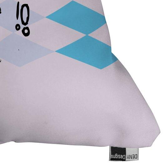 DENY Designs Randi Antonsen Poster Hero 2 Indoor/Outdoor Throw Pillow