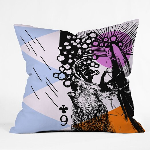 DENY Designs Randi Antonsen Poster Hero 3 Indoor/Outdoor Throw Pillow