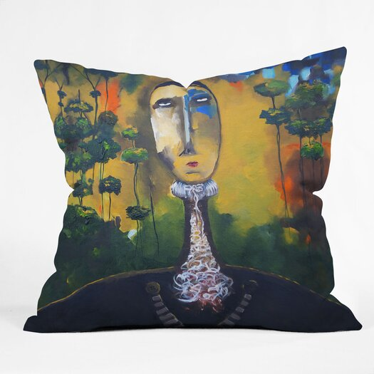 DENY Designs Robin Faye Gates Forest for Trees Indoor/Outdoor Throw Pillow