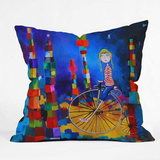 DENY Designs Robin Faye Gates Out of Bounds Throw Pillow
