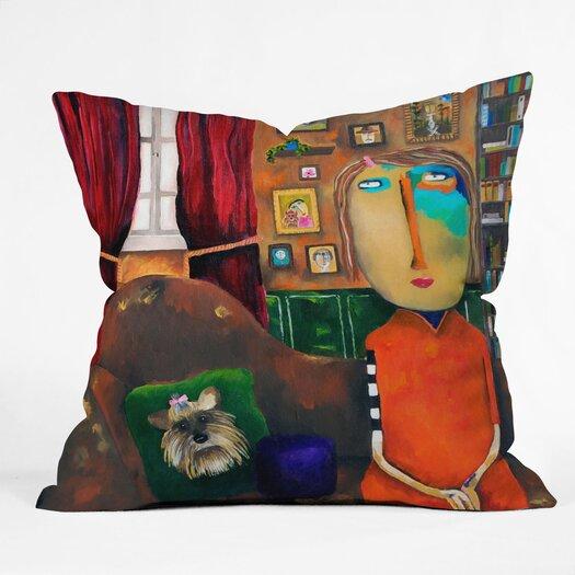 DENY Designs Robin Faye Gates Bebe Indoor/Outdoor Throw Pillow