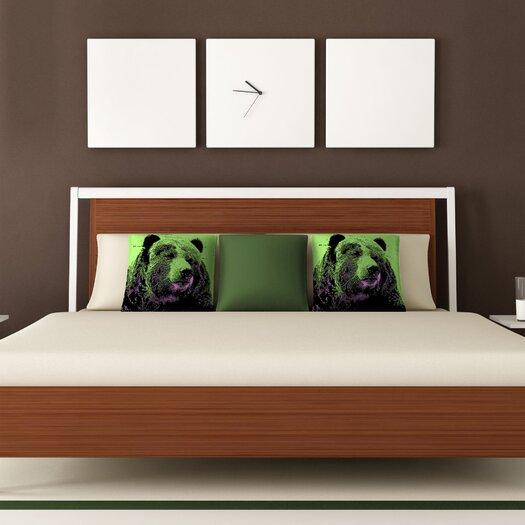 DENY Designs Romi Vega Bear Throw Pillow