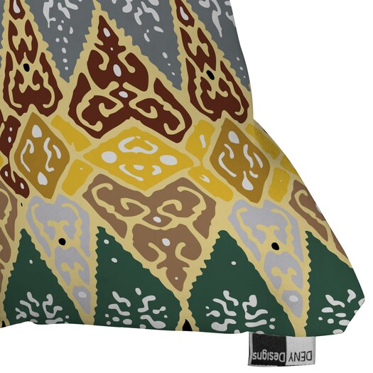 DENY Designs Romi Vega Diamond Tile Throw Pillow