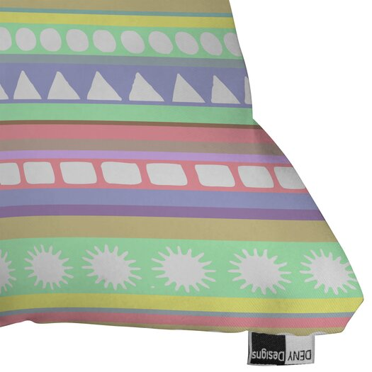 DENY Designs Romi Vega Pastel Pattern Throw Pillow