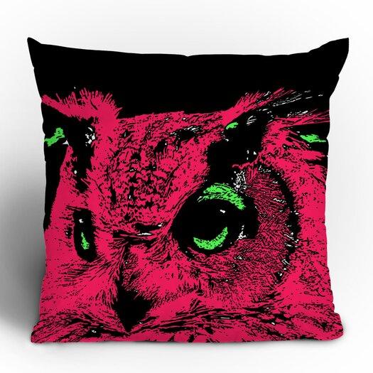DENY Designs Romi Vega Owl Throw Pillow
