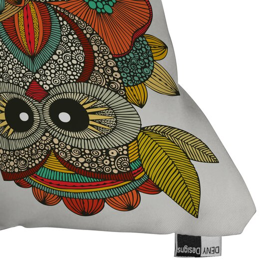 DENY Designs Valentina Ramos 4 Owls Indoor/Outdoor Throw Pillow