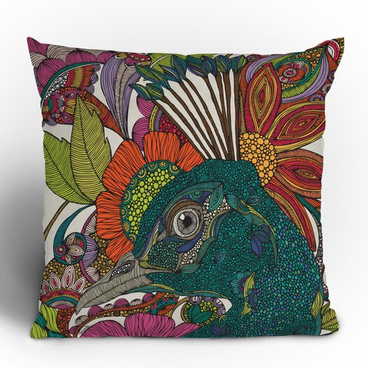 DENY Designs Valentina Ramos Alexis and the Flowers Throw Pillow