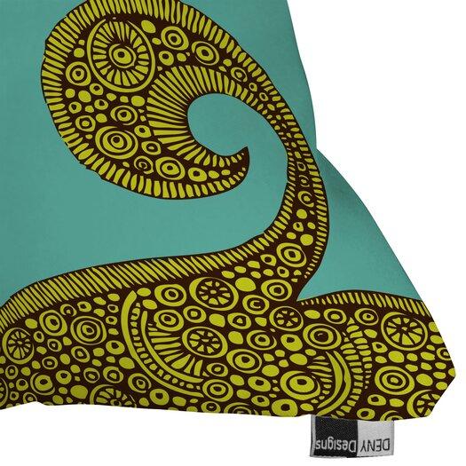 DENY Designs Valentina Ramos Bird in The Flower Indoor/Outdoor Throw Pillow