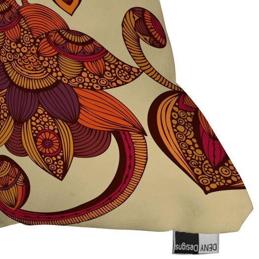 DENY Designs Valentina Ramos Boho Flowers Throw Pillow