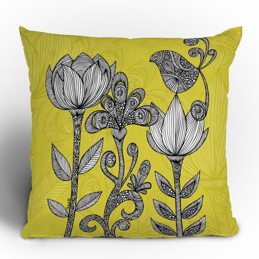 DENY Designs Valentina Ramos Garden Throw Pillow