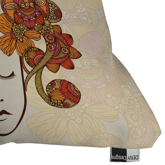 DENY Designs Valentina Ramos Its All in Your Head Throw Pillow