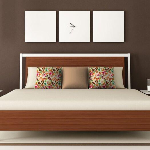 DENY Designs Valentina Ramos Little Birds Throw Pillow