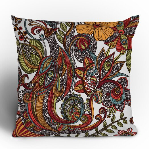 DENY Designs Valentina Ramos Paradise Bird Throw Pillow