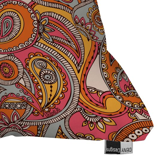DENY Designs Valentina Ramos Spring Paisley Throw Pillow