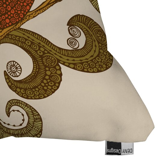 DENY Designs Valentina Ramos the Bird Throw Pillow