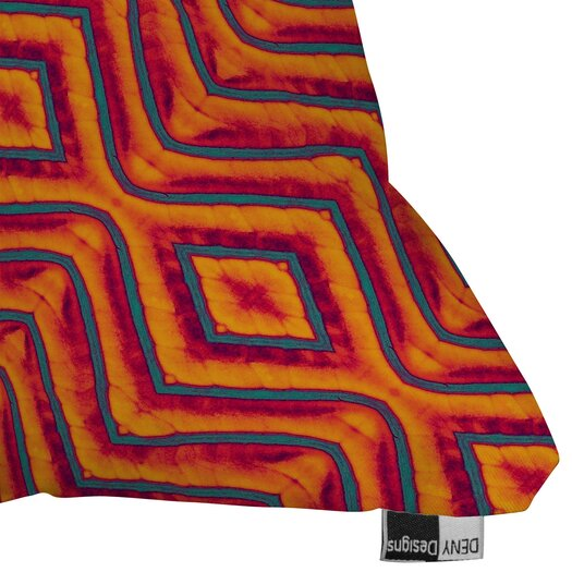 DENY Designs Wagner Campelo Sanchezia X Indoor/Outdoor Throw Pillow