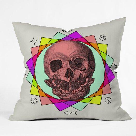 DENY Designs Wesley Bird True Sign Art Indoor/Outdoor Throw Pillow