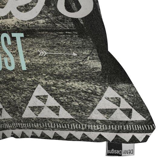 DENY Designs Wesley Bird Wander Indoor/Outdoor Throw Pillow