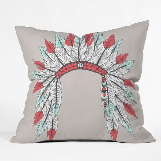 DENY Designs Wesley Bird Dressy Indoor/Outdoor Throw Pillow