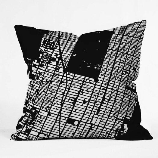 DENY Designs CityFabric Inc NYC Midtown Indoor/Outdoor Throw Pillow