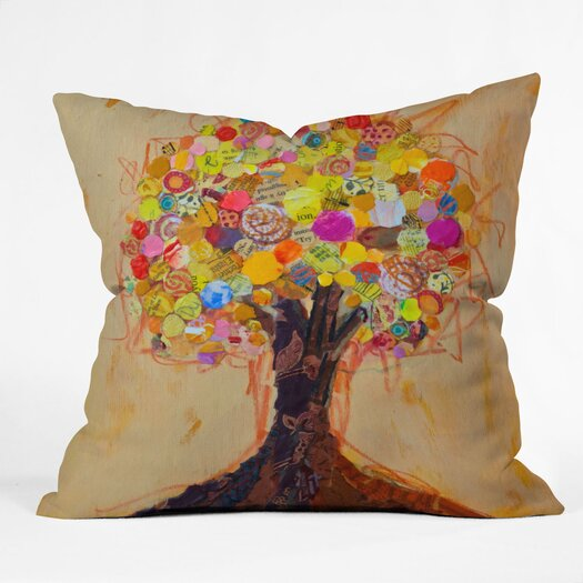 DENY Designs Elizabeth St Hilaire Nelson Summer Tree Throw Pillow