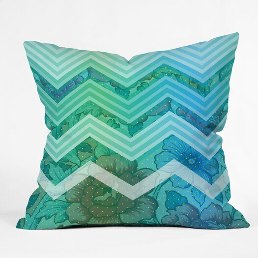 DENY Designs Gabi Azul Throw Pillow