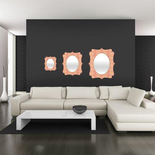 DENY Designs Cori Dantini Ikat 4 Quatrefoil Mirror