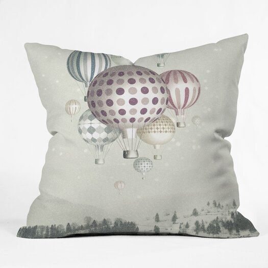 DENY Designs Belle13 Winter Dreamflight Throw Pillow