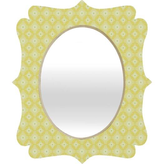 DENY Designs Caroline Okun Spirals Quatrefoil Mirror