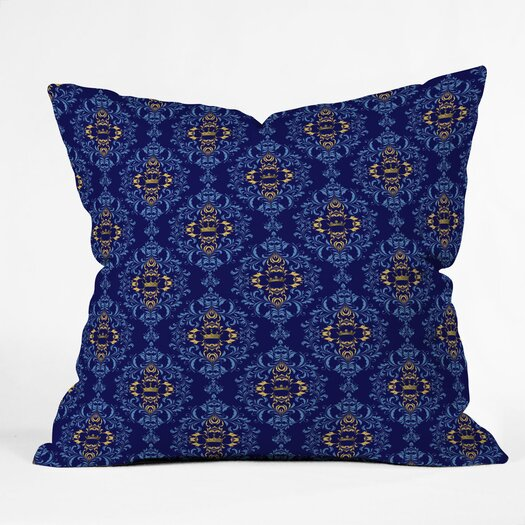 DENY Designs Belle13 Royal Damask Pattern Throw Pillow