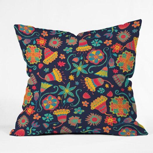 DENY Designs Arcturus Bloom 1 Throw Pillow