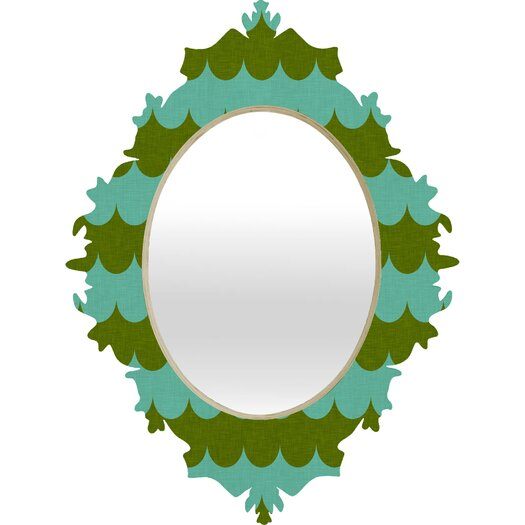 DENY Designs Holli Zollinger Waves of Color Baroque Mirror