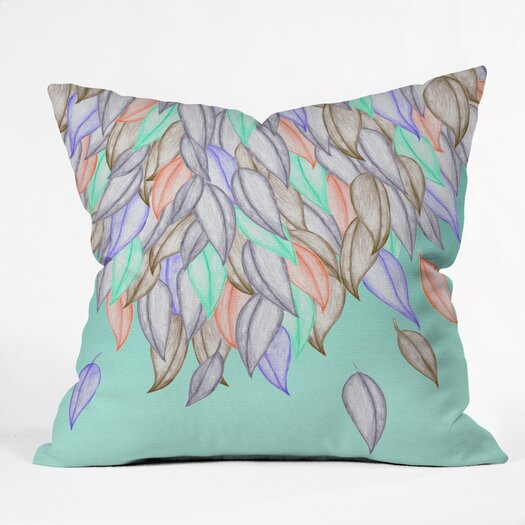 DENY Designs Jacqueline Maldonado A Different Nature 1 Throw Pillow