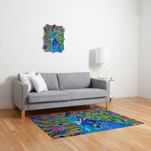 DENY Designs Elizabeth St. Hilaire Nelson Cacophony of Color Area Rug