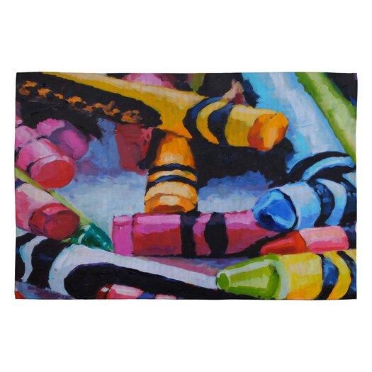 DENY Designs Jenny Grumbles Crayons Kids Rug