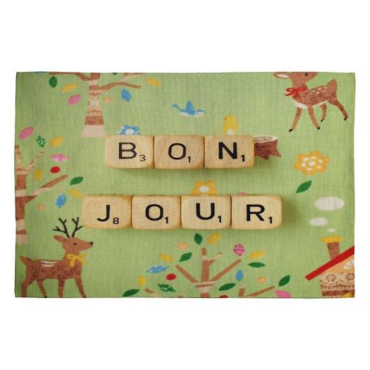 DENY Designs Happee Monkee Bonjour Kids Rug